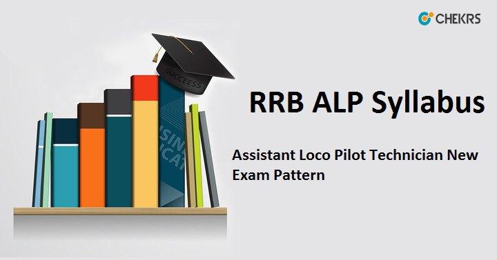 RRB ALP Syllabus 2020