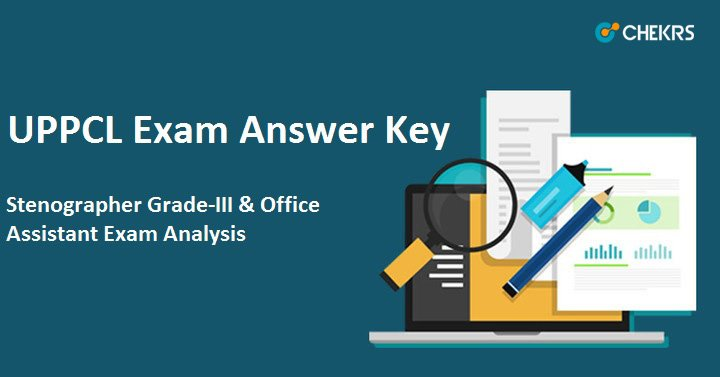 UPPCL Office Assistant Answer Key 2021