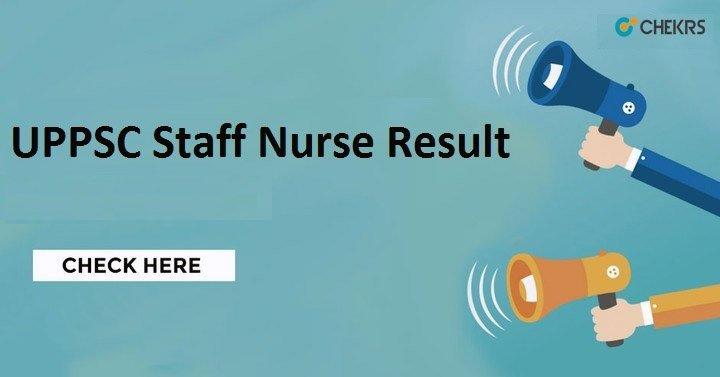 UPPSC Nursing Staff Exam Result