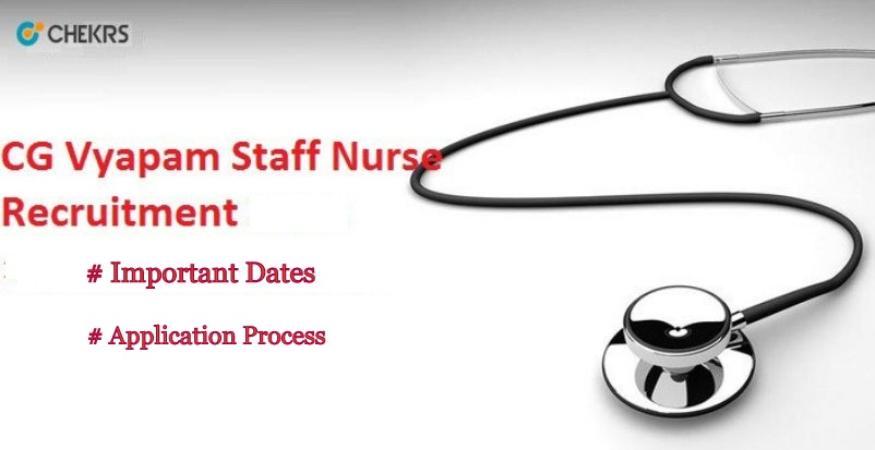CG Vyapam Staff Nurse Recruitment