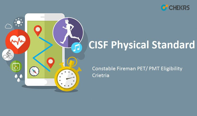 CISF Constable Fire Physical Standard Test