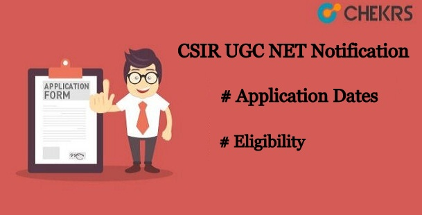 CSIR UGC NET Notification
