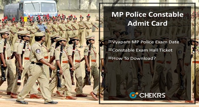 MP Police Constable Admit Card 2021