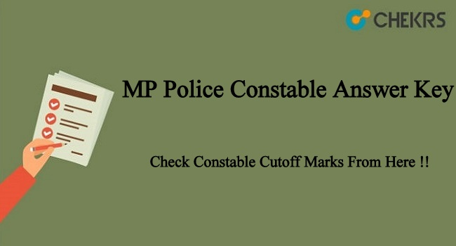 MP Police Constable Answer Key