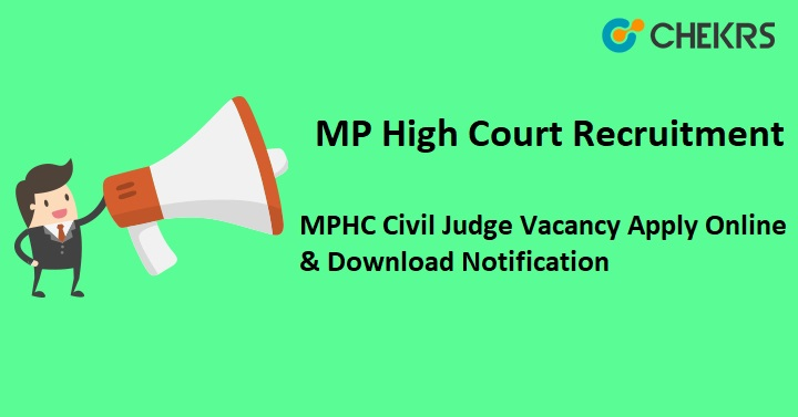 MPHC Civil Judge Recruitment