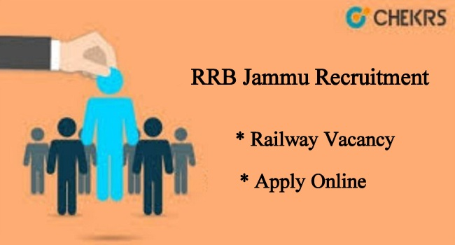 RRB Jammu Recruitment