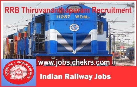 RRB Thiruvananthapuram Recruitment 2021