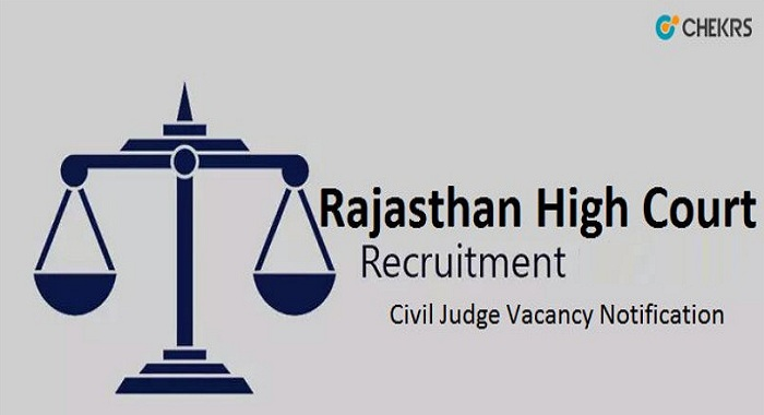 Rajasthan High court Civil Judge Recruitment 2021