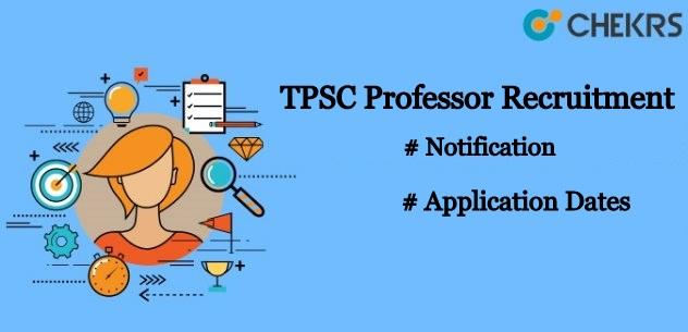 TPSC Professor Recruitment