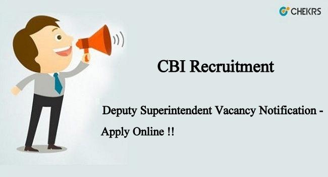 CBI Recruitment