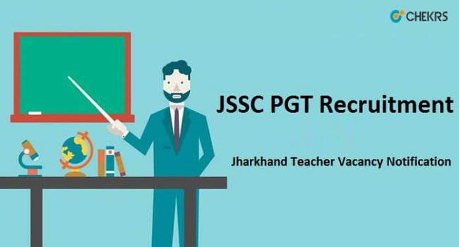 JSSC PGT Recruitment