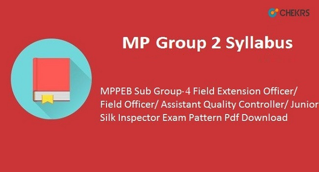 MP PEB Group 2 Syllabus