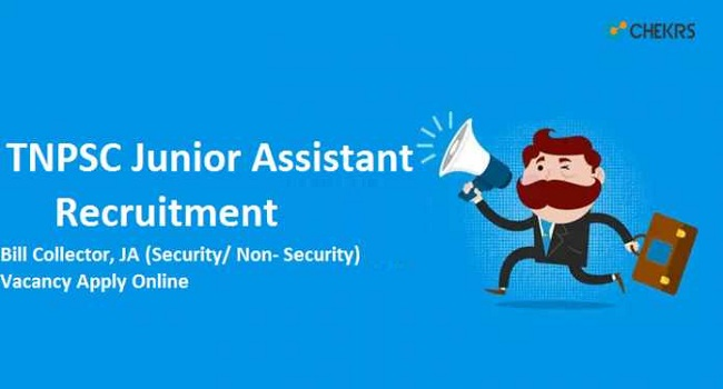 TNPSC Junior Assistant Recruitment