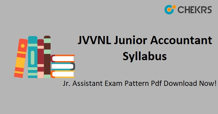 JVVNL Junior Accountant Syllabus 2021