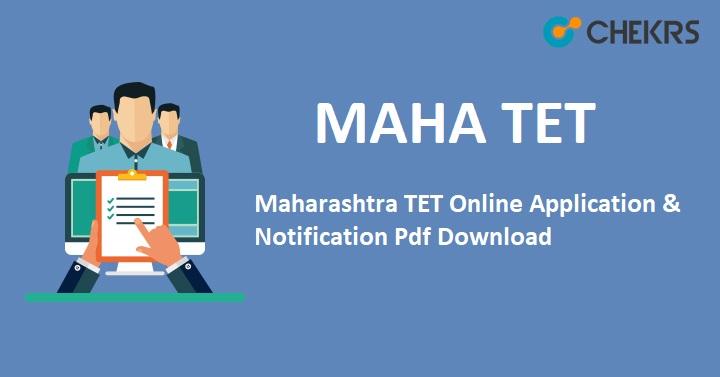 Maharashtra TET Application 2021