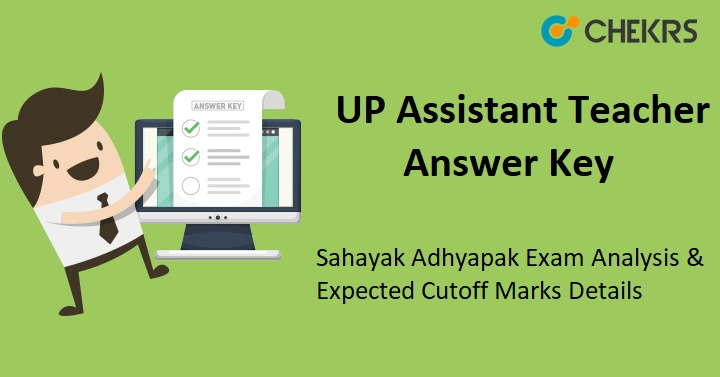 UP Assistant Teacher Answer Key
