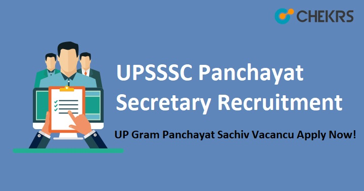 UPSSSC Panchayat Secretary Recruitment