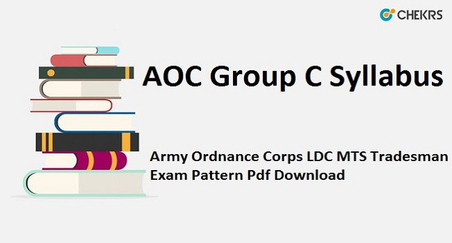 AOC Group C Syllabus