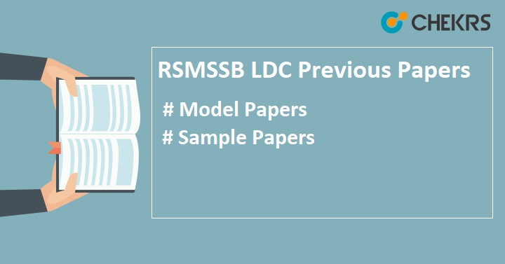 RSMSSB Junior Assistant Previous Papers