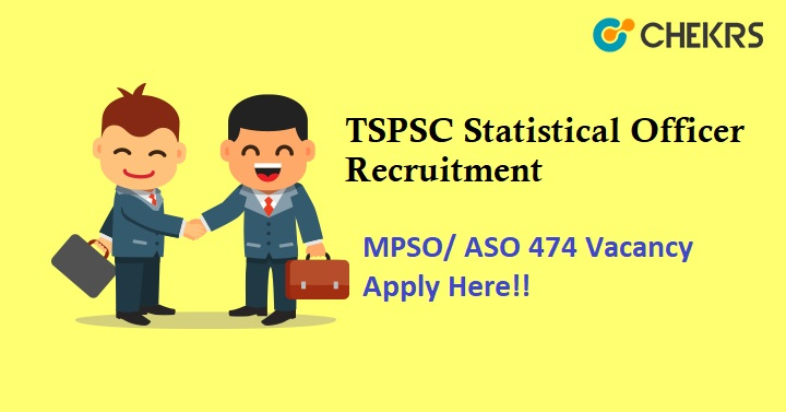 TSPSC Statistical Officer Recruitment 2021