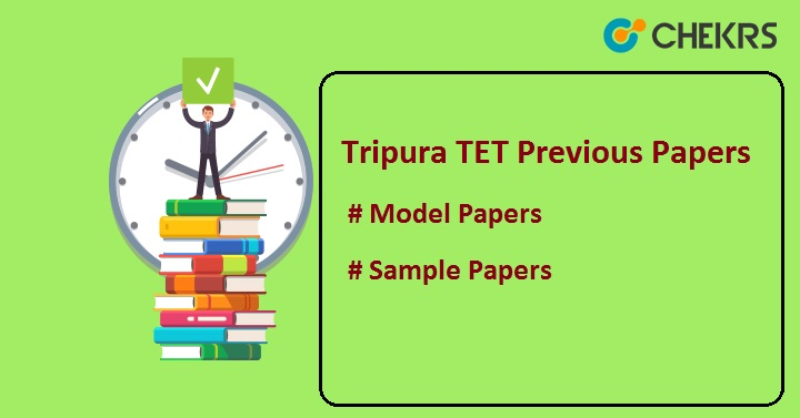 Tripura TET Previous Question Papers