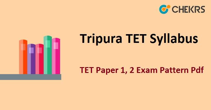 Tripura TET Syllabus 2021