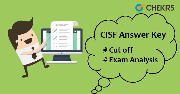 CISF Constable Answer Key 2018