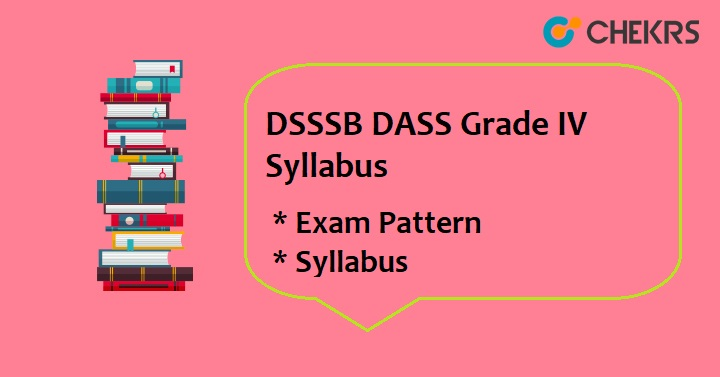 DSSSB DASS Grade 4 Syllabus 2020