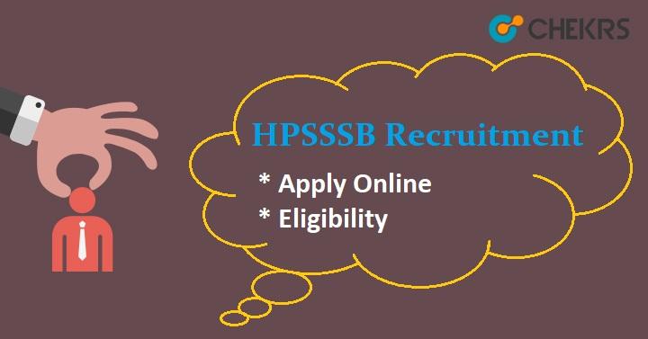 HPSSSB Junior Engineer Recruitment 2021