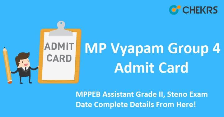 MP Group 4 Admit Card 2021