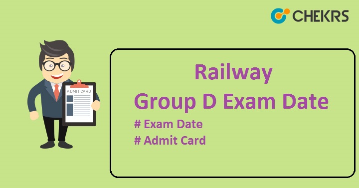 RRB Group D Exam Date 2022