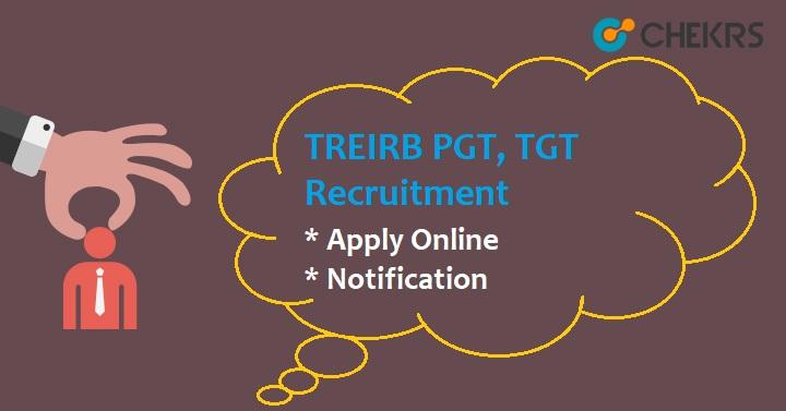 TREIRB TGT PGT Recruitment 2021
