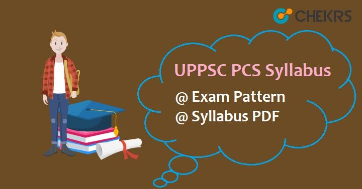 UPPSC PCS Syllabus 2020
