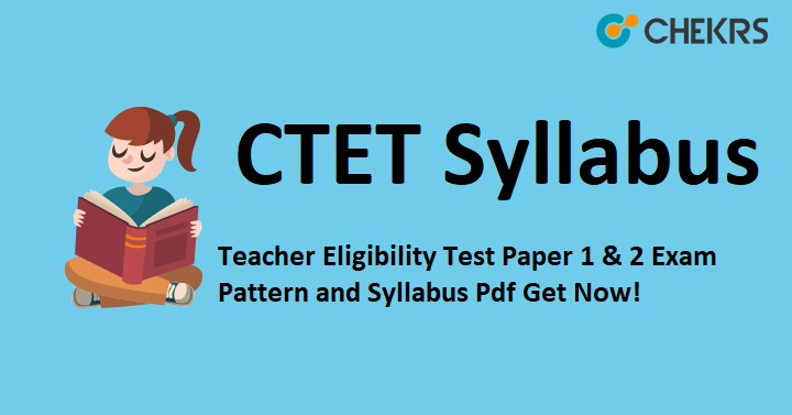 CBSE CTET Exam Syllabus