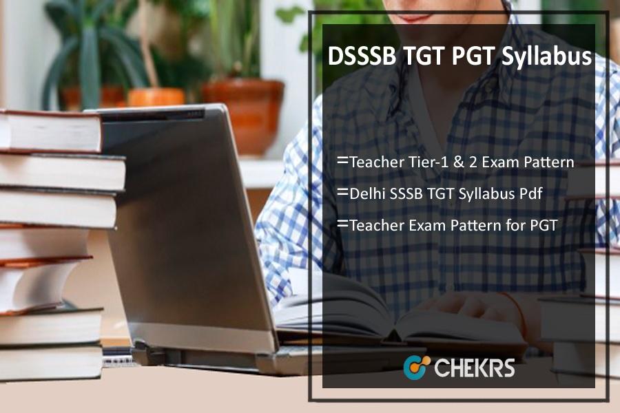 DSSSB TGT PGT Exam Pattern