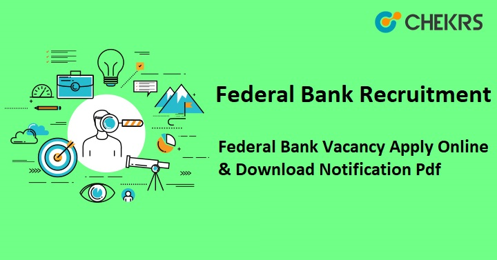 Federal Bank Clerk Recruitment 2021