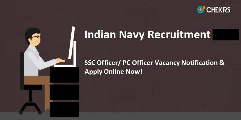 Indian Navy Technical Officer Recruitment 2021