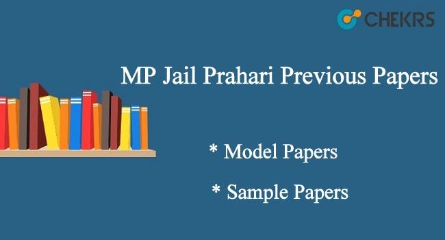 MP PEB Jail Prahari Previous Papers