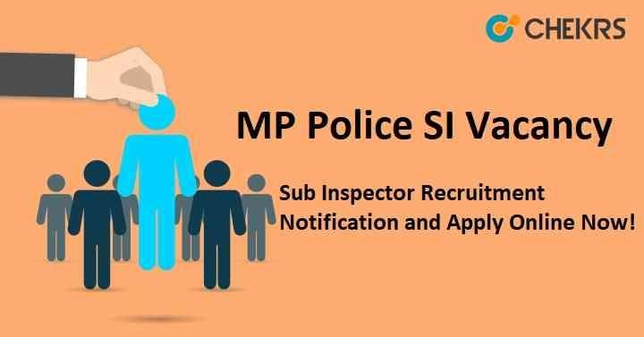 MP SI Recruitment