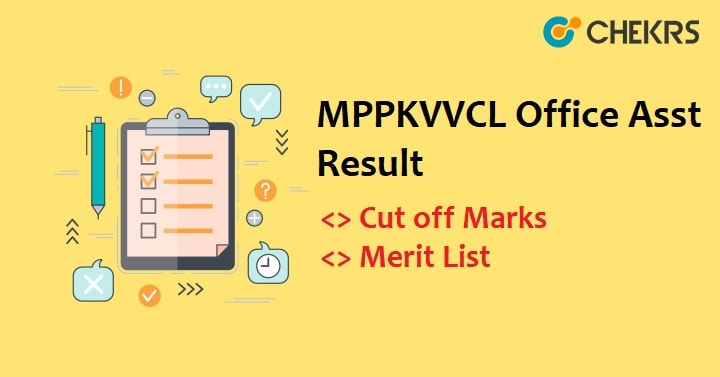 MPPKVVCL Office Assistant Result 2019