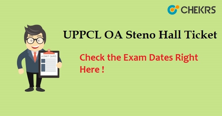 UPPCL Office Assistant Admit Card 2021
