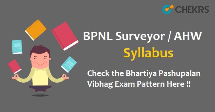 BPNL Surveyor Exam Pattern