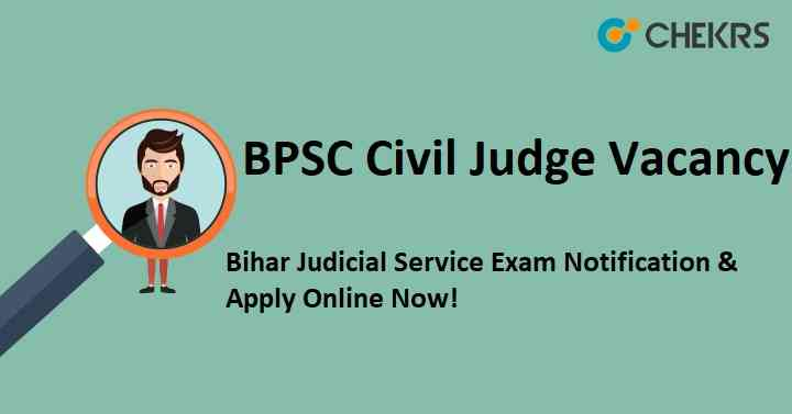 BPSC Civil Judge Vacancy