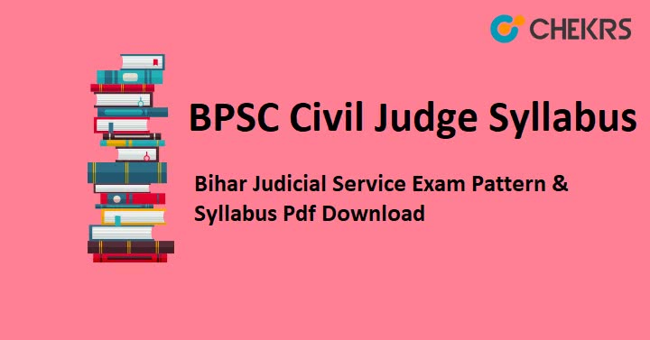 BPSC Civil Judge Syllabus