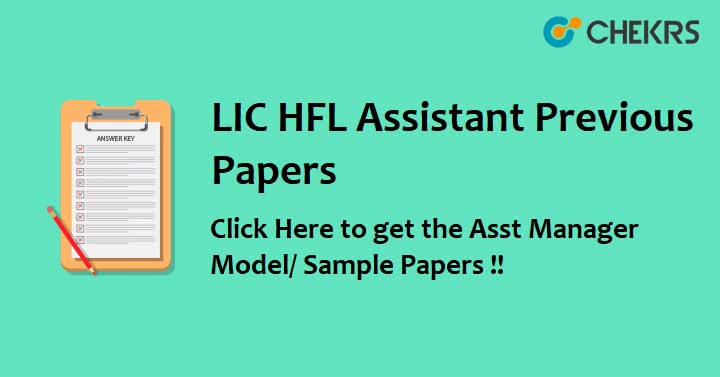 LIC Housing Finance Question Paper