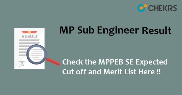 MPPEB Sub Engineer Result