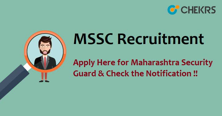 MSSC Recruitment