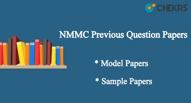 NMMC Previous Year Question Papers
