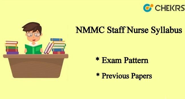 NMMC Staff Nurse Syllabus
