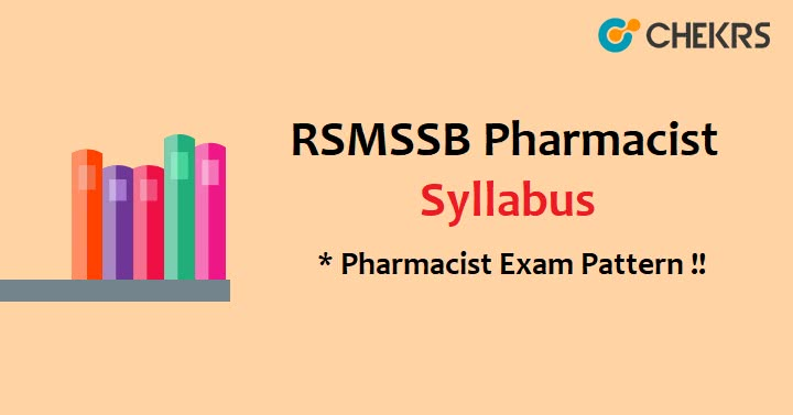 Rajasthan Pharmacist Exam Pattern